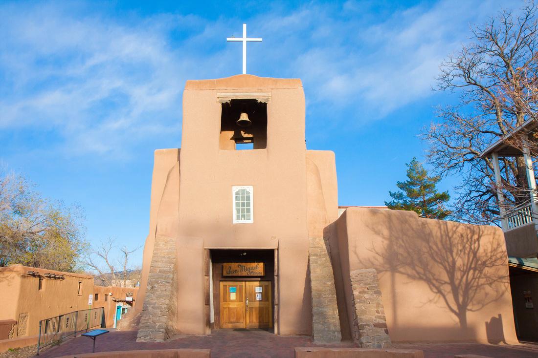 San Miguel Mission Church, Santa Fe, New Mexico.